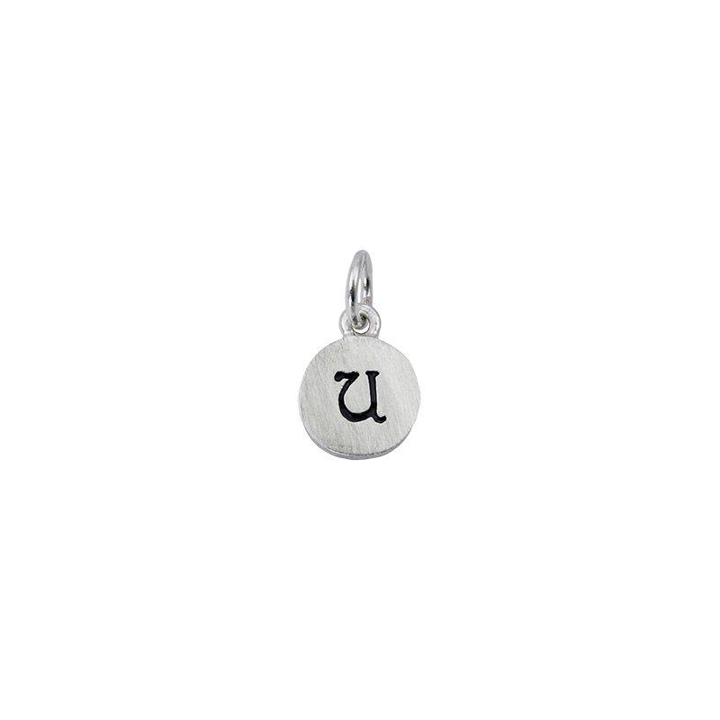 Berco Jewelry Initial 'U' Charm