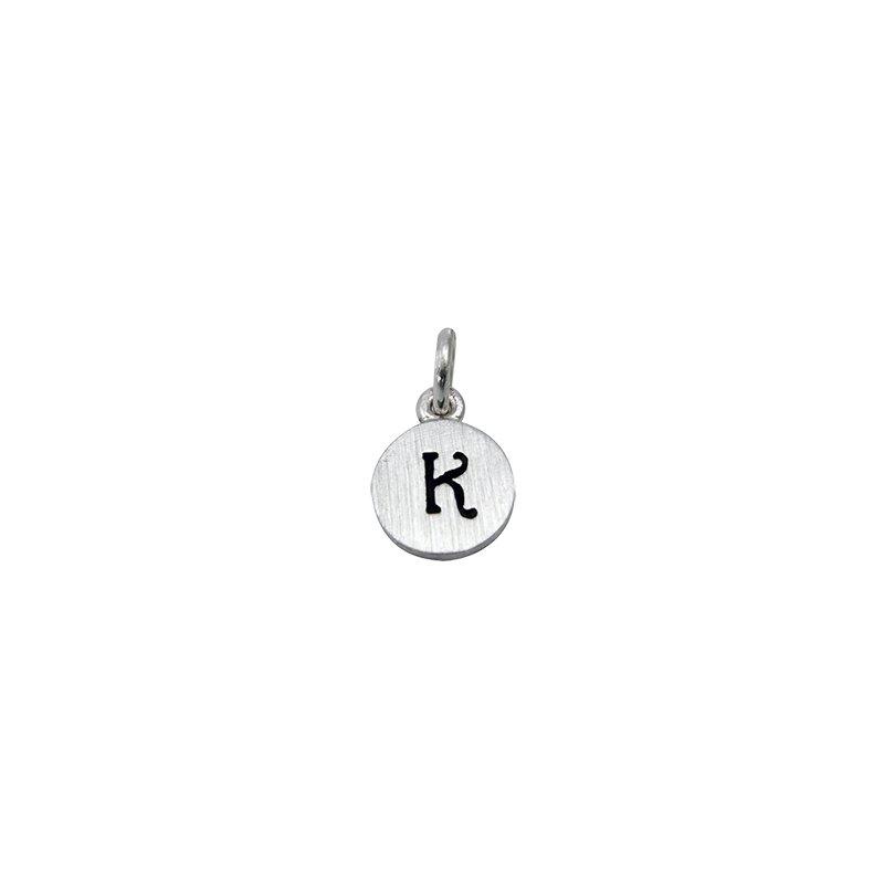 Berco Jewelry Initial 'K' Charm