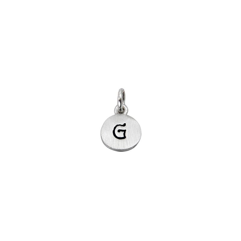 Berco Jewelry Initial 'G' Charm