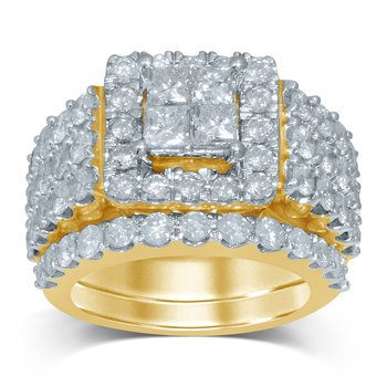 14K 4.03Ct Diam Bridal Ring