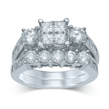14K 3.03Ct Diam Bridal Ring
