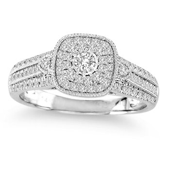 14K 0.40Ct Diamond Ring