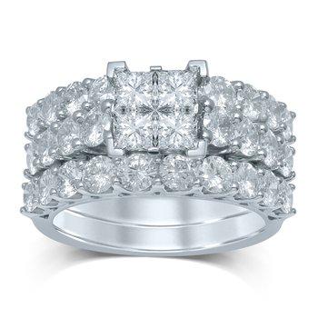 14K 3.95Ct Diam Bridal Ring