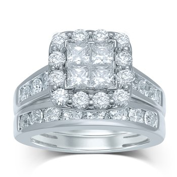 14K 3.00Ct Diam Bridal Ring