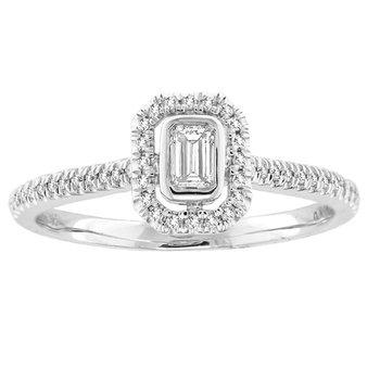 14K 0.33Ct Diam Bridal Ring