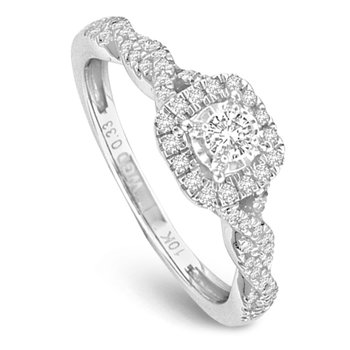 14K 0.50Ct Diam Ring