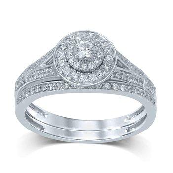 14K 0.50Ct Diam Brdail Ring