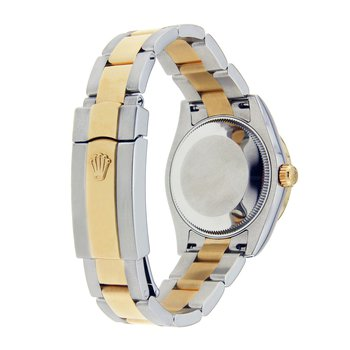ROLEX DATEJUST II 41MM STAINLESS STEEL AND YELLOW GOLD CHAMPAGNE DIAL