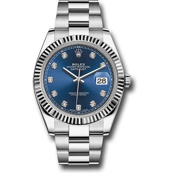 Pre Owned Rolex Oyster Perpetual Date-just 41 Watch