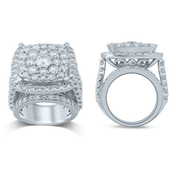 14K 7.00Ct Diam Bridal Ring