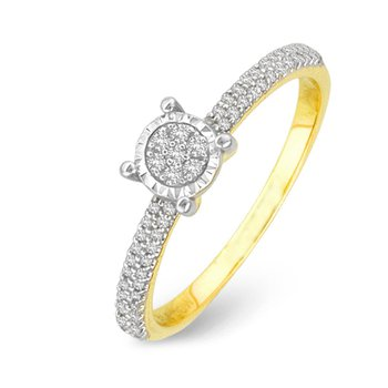 14K 0.15Ct Diam Ring