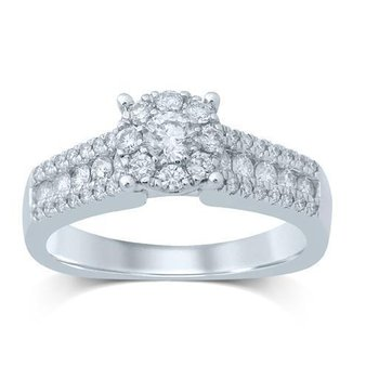 14K 0.78Ct Diam Ring