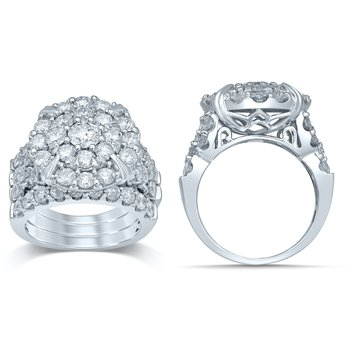 14K 5.00Ct Diam  Bridal Ring
