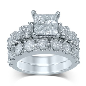 14K 4.03Ct Diam Bridal Ring