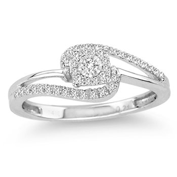 14K  0.21Ct  Diamond  Ring