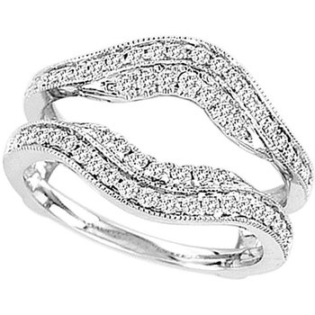 14K  0.50Ct  Dia  Ring Guard