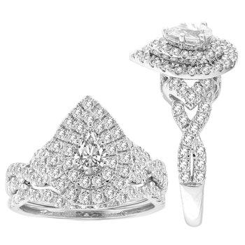 14K 1.50Ct Diam Bridal Ring