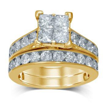 14K 3.27Ct Diam Bridal  Ring