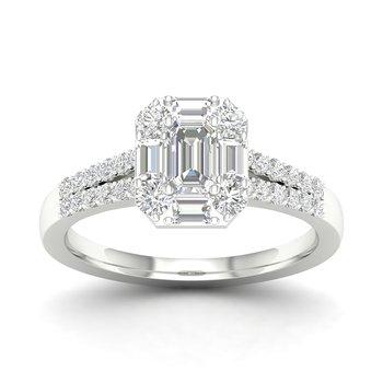 14K 0.50Ct Diam Bridal Ring