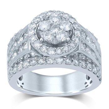 14K 3.00Ct Diam Bridal Ring