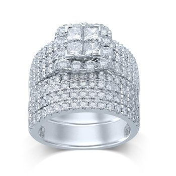 14K 5.10Ct Diam Bridal Ring