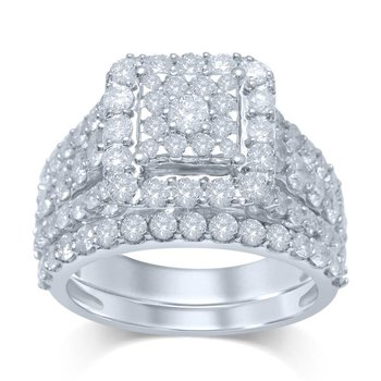 14K 2.75Ct Diam Bridal Ring