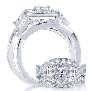 14K  2.03Ct  Diam  Bridal  Ring