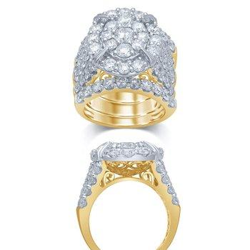 14K 6.00Ct Diam Bridal Ring