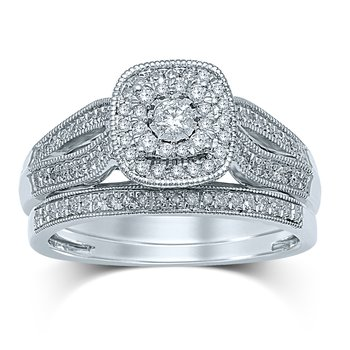 14K 0.40Ct Diam Bridal  Ring