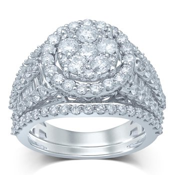 14K 2.63Ct Diam Bridal Ring
