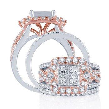 14K  2.80Ct  Diam   Bridal Ring