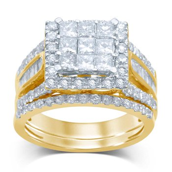 14K 2.25Ct Diam Bridal Ring