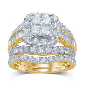 14K 3.75Ct Diam Bridal Ring