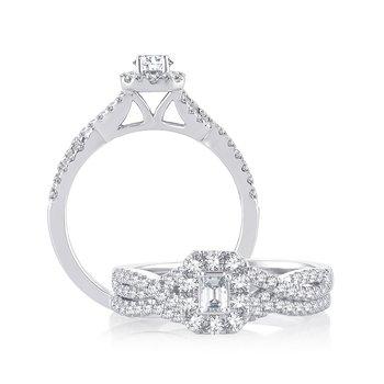 14K 0.75Ct Diam Bridal  Ring