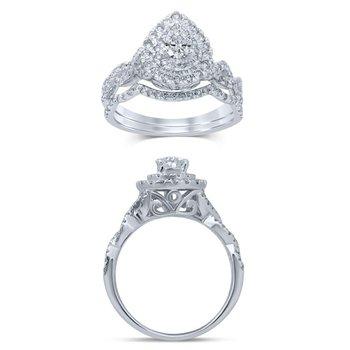 14K 1.00Ct Diam Bridal Ring