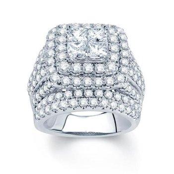 14K 5.06 Ct Diam Bridal Ring