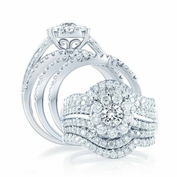14K 2.45Ct Diam Bridal Ring