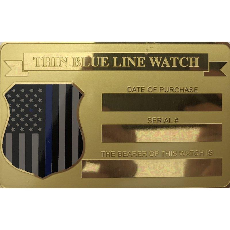 Citizen Men's Thin Blue Line