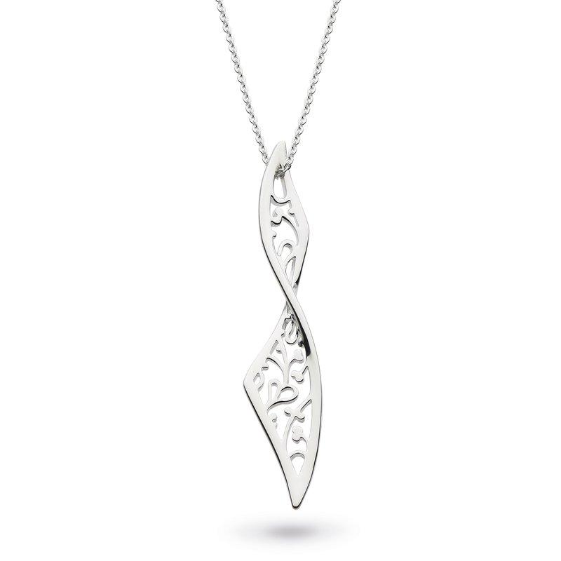 Kit Heath Blossom Flourish Large Twist Necklace