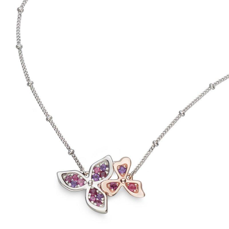 Kit Heath Blossom Petal Bloom Rosé Necklet