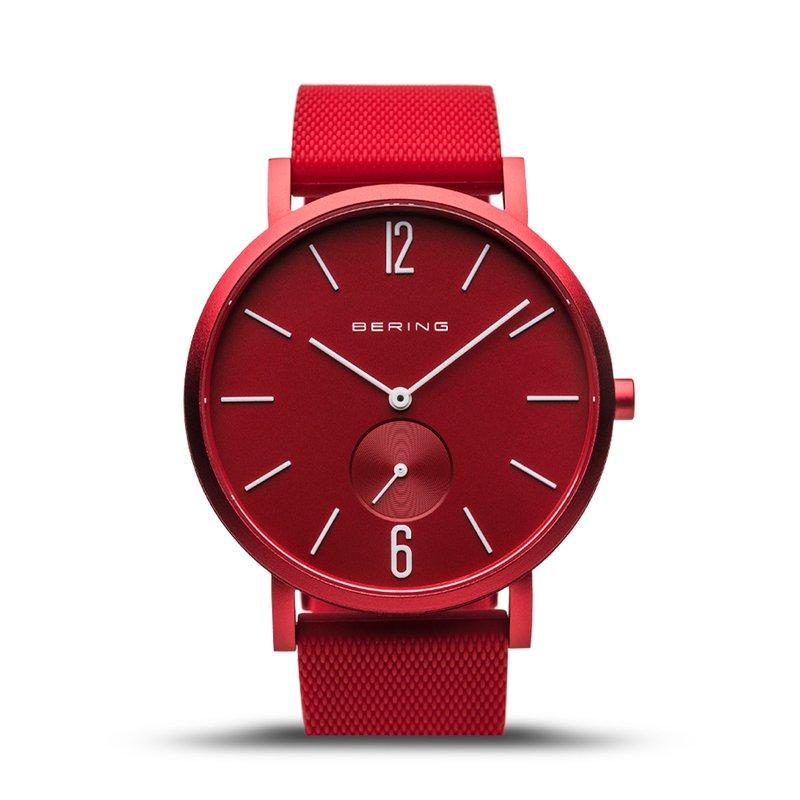 Bering True Aurora Red Men's Watch