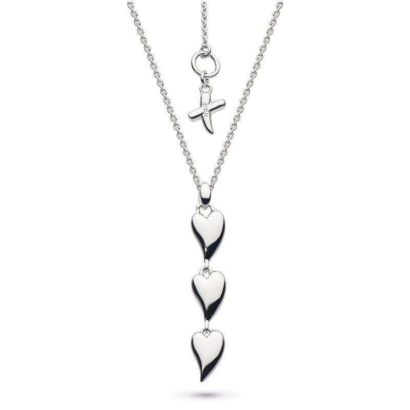 Kit Heath Desire Kiss Triple Hearts Necklace