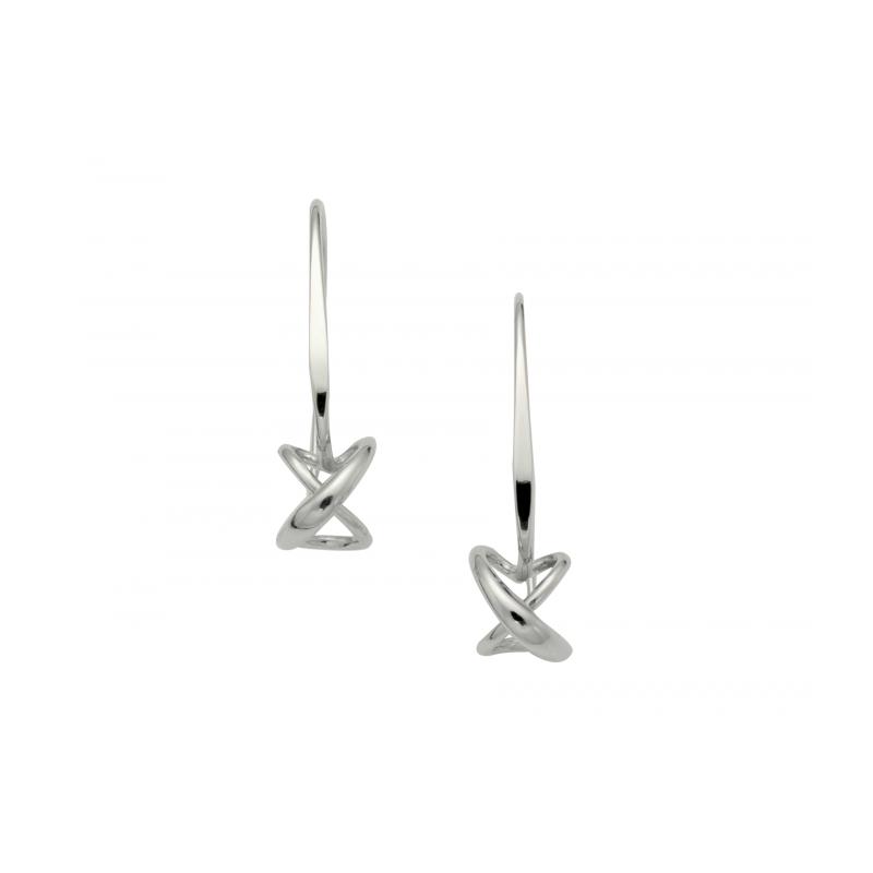 E.L. Designs Dangling Secret Heart Earring