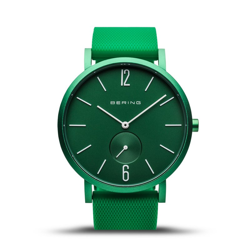 Bering True Aurora Green Men's Watch