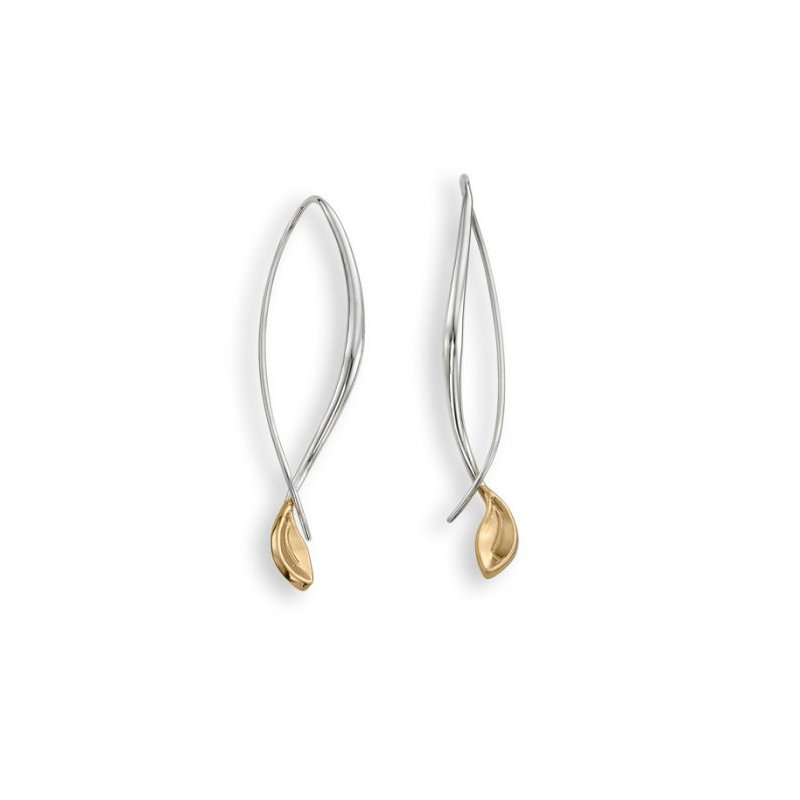 E.L. Designs Be-Leaf Drop Earrings