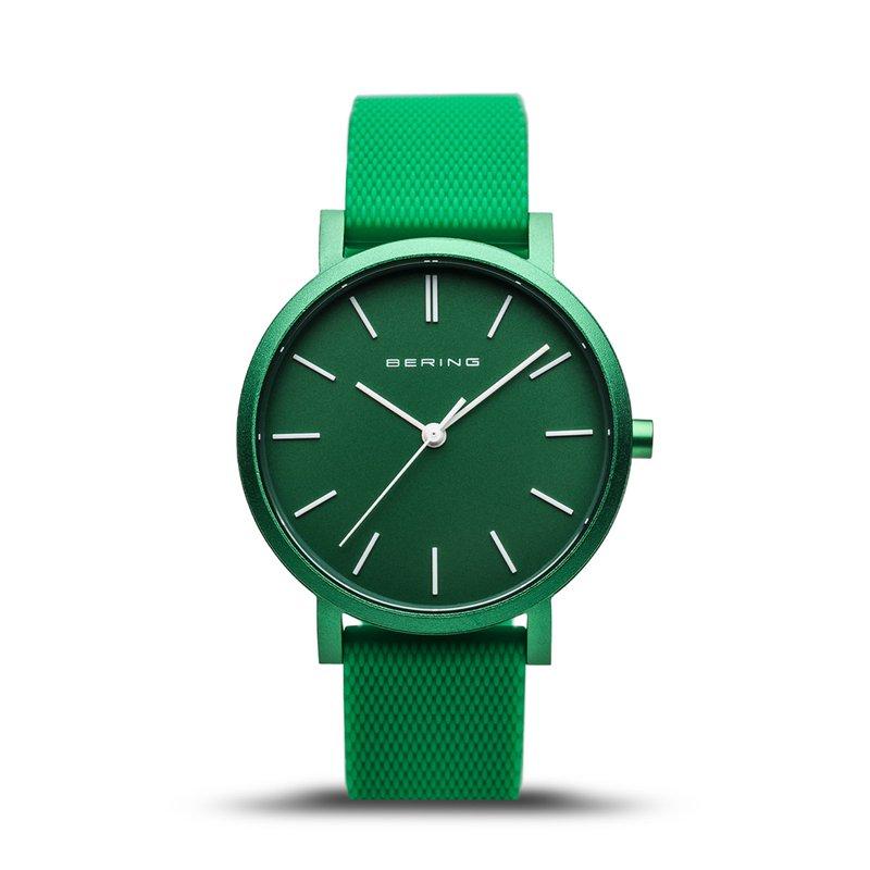 Bering True Aurora Green Ladies Watch