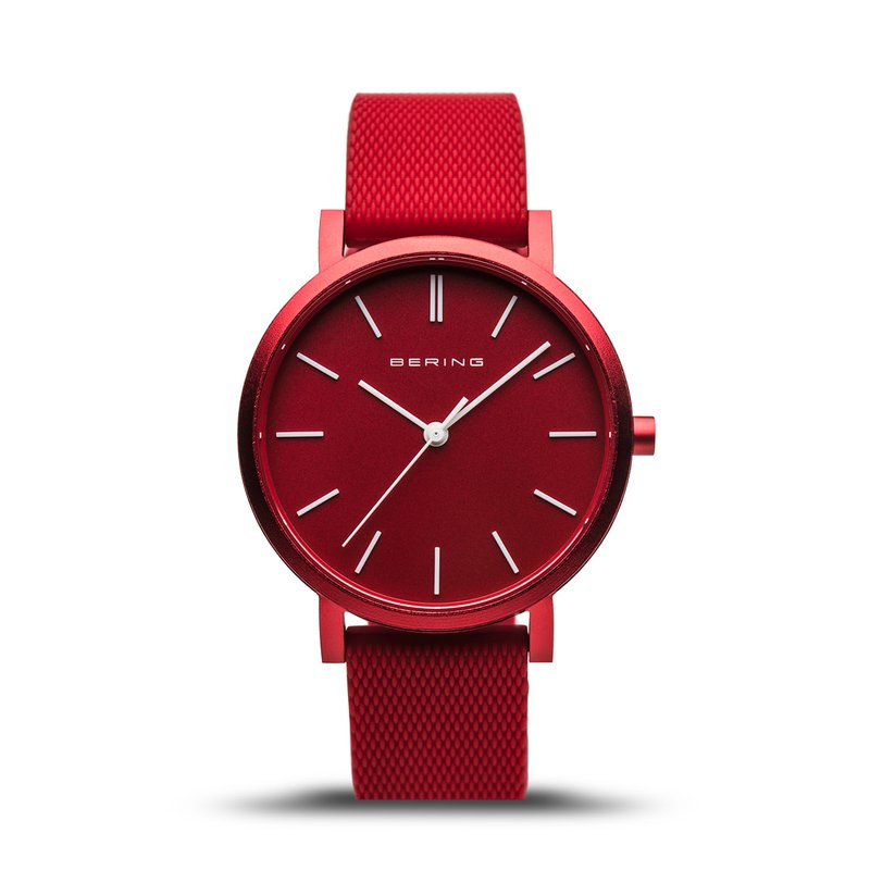 Bering True Aurora Red Ladies Watch