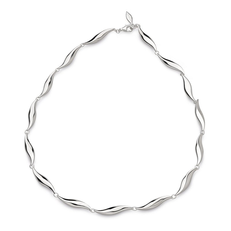 Kit Heath Bevel Edge Link Necklace