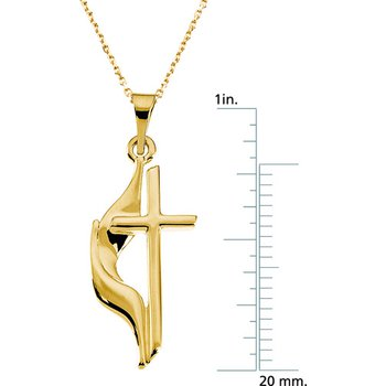 Methodist Cross Pendant