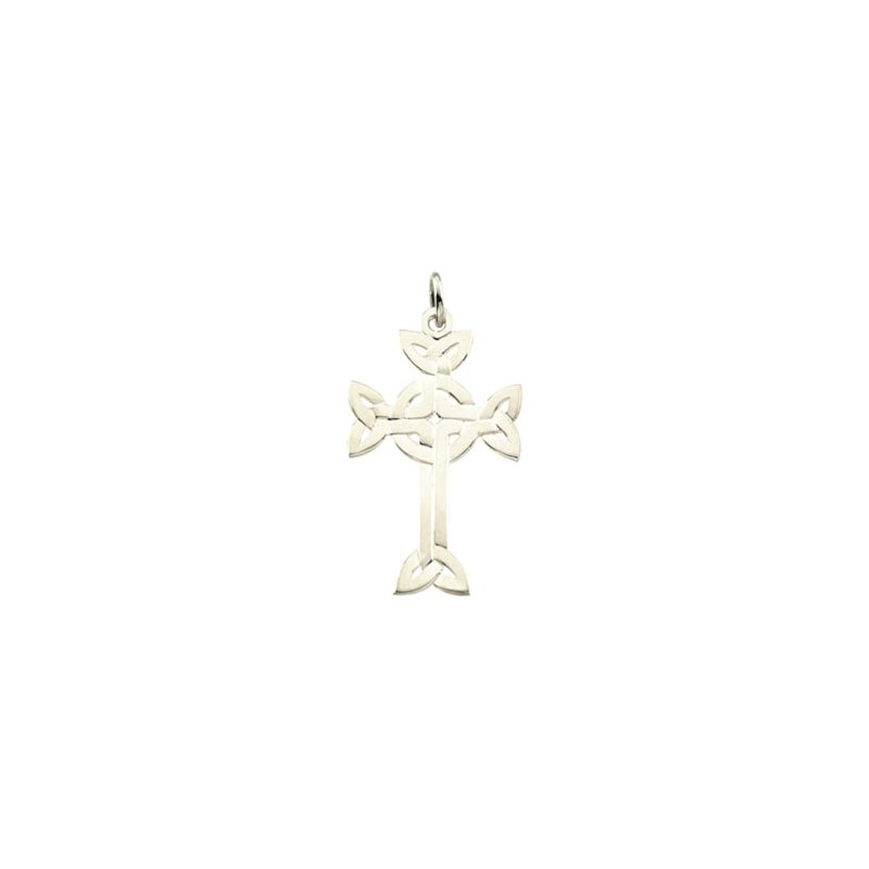 Religious Jewelry Celtic Design Cross Pendant